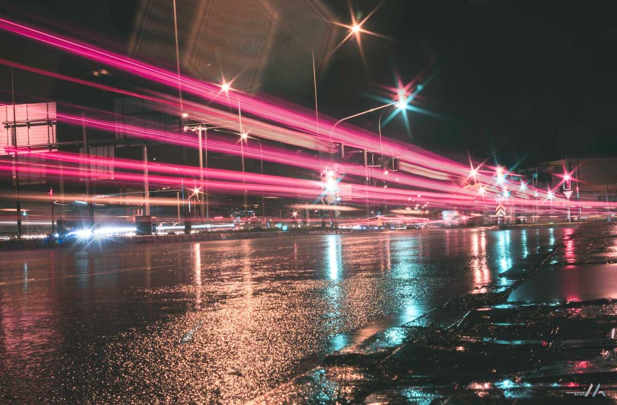 Yağışlı Yol Panorama